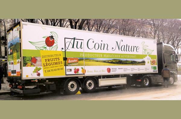 Notre camion de transport